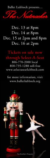 Ballet Lubbock presents The Nutcracker - Dec. 13-16